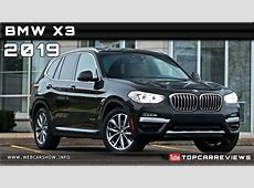 2019 BMW X3 Review Rendered Price Specs Release Date YouTube