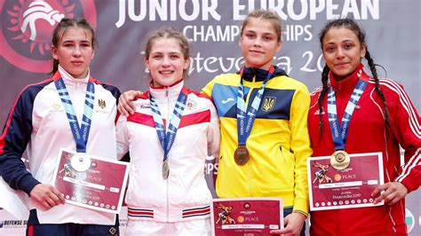 Cīkstone Mamedova sensacionāli izrauj junioru Eiropas ...