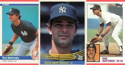 don mattingly rookie card how the don mattingly rookie card built a hobby craze