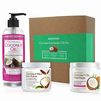 Gift Coconut Pure Sets Care Skin Relaxation