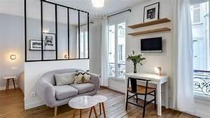 comment organiser son petit espace de vie decoratrice With idee amenagement appartement 30m2