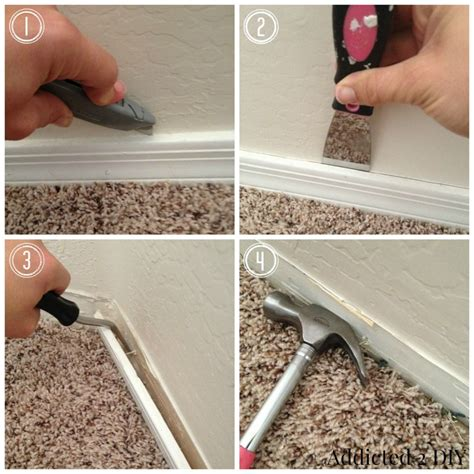 tools needed to remove baseboards how to replace baseboards without destroying your walls