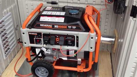 Generac Portable Generator Shed generac generator installed in a suncast garden shed fo