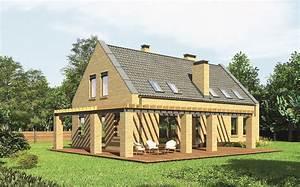 Dom Nad Jeziorem : projekt domu m124 dom nad jeziorem ~ Markanthonyermac.com Haus und Dekorationen