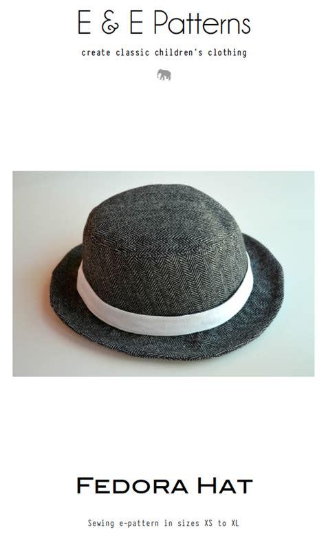 Fedora Hat Template by Fedora Hat Pattern Elegance Elephants
