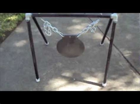 ar steel gong stand youtube