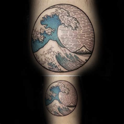 famous japanese wave tattoo ideas golfiancom