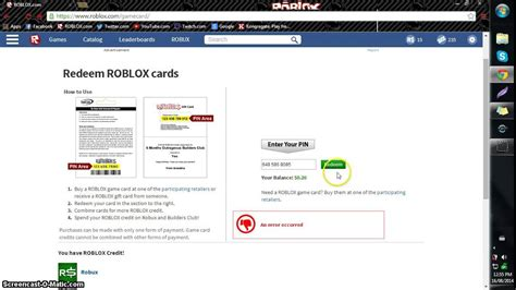 reedem roblox card  buy robux roboxtotourials