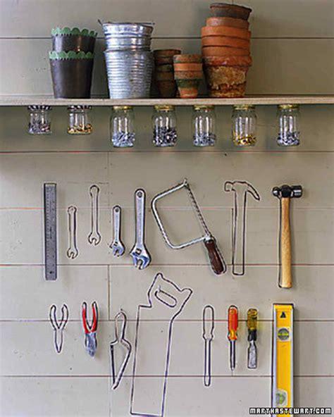 garage  shed organizing ideas martha stewart