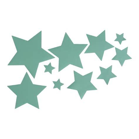 muurstickers sterren mintgroen ster mint decoratie