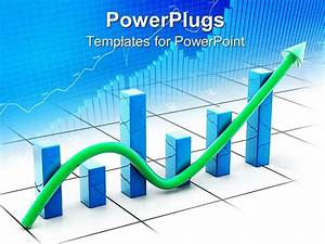 PowerPoint Template: a financial growth table with its ...