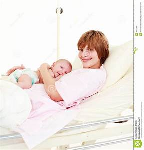 Mother Holding Her Newborn Baby Royalty Free Stock Image ...