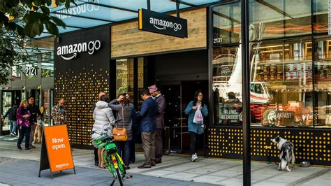 amazon   cashiers hundreds  cameras  lots