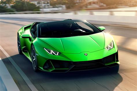 2019 Lamborghini Huracan Pictures by New 2019 Lamborghini Huracan Evo Spyder Revealed At Geneva