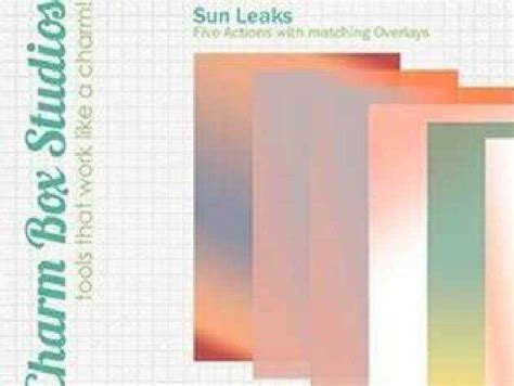 sun leaks overlays freepsdvn