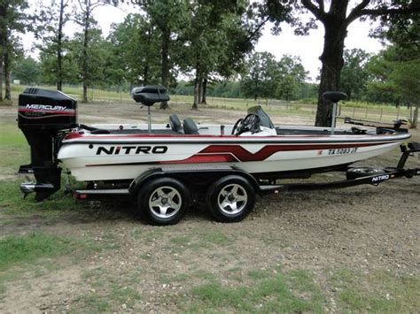 Used Nitro Bass Boats Texas by Nitro Savage Bass Boat For Sale