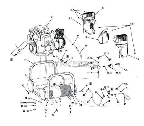 Powermate Air Compressor Wiring Diagram by Coleman Powermate Cta5090412 Ct5090412 Air Compressor Parts