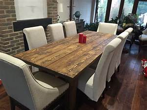 Rustic, Dining, Table, U2013, New, Forest, Rustic, Furniture