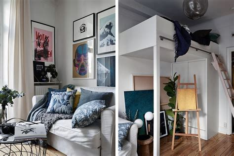 Chic Scandinavian Studio With Lofted Bed by 25 Loft Bed Ideas For Small Rooms And Apartments