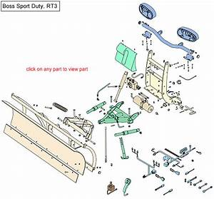 Boss Rt3 Sport Duty Snow Plow Parts Diagram
