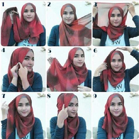 aneka model hijab modern  acara wisuda