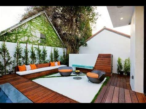 decoracion de jardines  patios modernos youtube