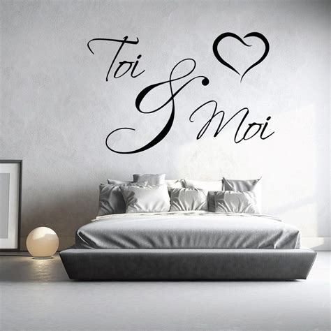 stickers phrase chambre adulte stickers chambre adulte tete de lit 20171015075658