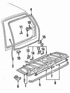 Chevrolet S10 Blazer Torque Rod Retainer  Gate