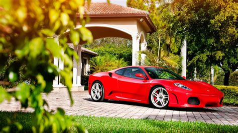 Ferrari F430 Adv1 Wheels Wallpapers