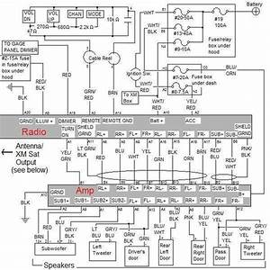 Complete Oem Audio Schematic For Ex And Sc  Amplified