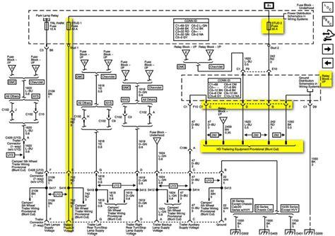 2009 Chevy Silverado Trailer Wiring Diagram by 2009 Chevrolet Silverado 2500hd Ltz Trailer Wiring Diagram