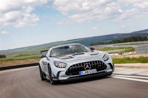 Too bad the sound is almost. Mercedes-AMG GT Black Series (2021) - Super Express
