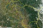 Kaweah River watershed with streams   Data Basin
