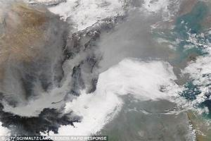 Aerosols from burning fossil fuels may protect some ...
