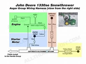 John Deere 1330se Snowblower