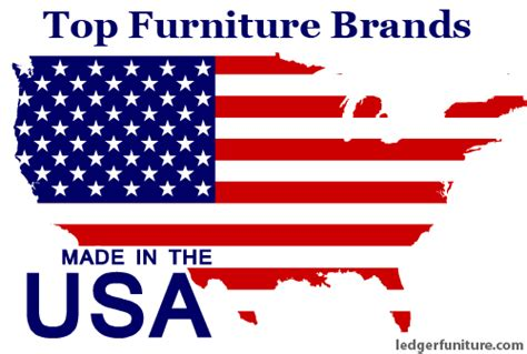 Furniture Made In Usa by Top 4 American Made Furniture Brands Ledger Furniture