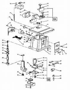 Craftsman Craftsman Bench Top Shaper  Router Parts