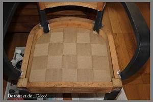 Comment Refaire L Assise D Une Chaise : tuto pour fauteuil bridge de tout et de d co ~ Nature-et-papiers.com Idées de Décoration