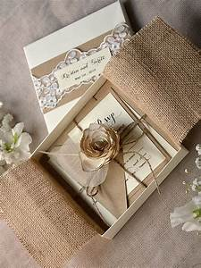 25 best ideas about box wedding invitations on pinterest With how to make wedding invitations box