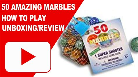 Imperial Toy 50 Amazing Marbles  Unboxing  Review How