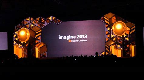 magentoebay projection mapped stage youtube