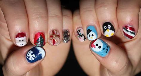 Beautiful Christmas Nail Art Ideas, Designs