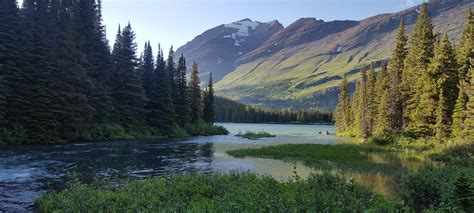 glacier national parkwaterton lakes national park canada