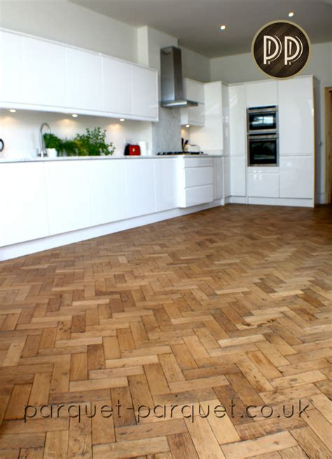 kitchen flooring ideas uk oak kitchen flooring ideas parquet parquet 4859