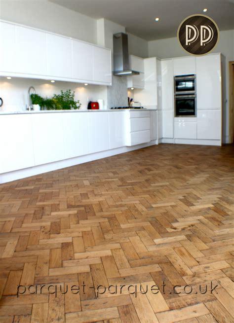 Oak Kitchen Flooring Ideas  Parquet Parquet