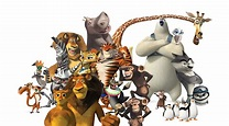 Madagascar All Character Line Up by Dominickdr98 on DeviantArt