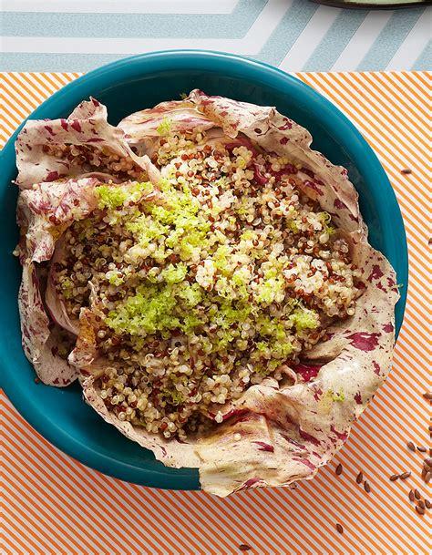 recette de cuisine pour maigrir salade de quinoa bicolore recettes de printemps pour