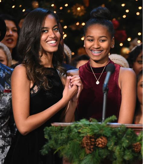 Michelle Obama Says Daughters Sasha And Malia Aren't