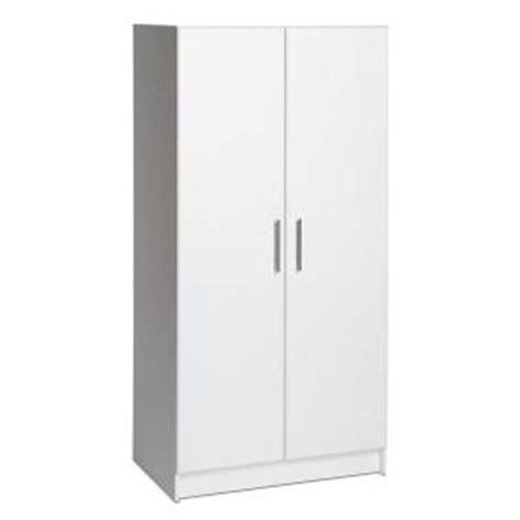 prepac elite collection 32 wardrobe cabinet prepac 32 in elite wardrobe cabinet wew 3264 the home depot