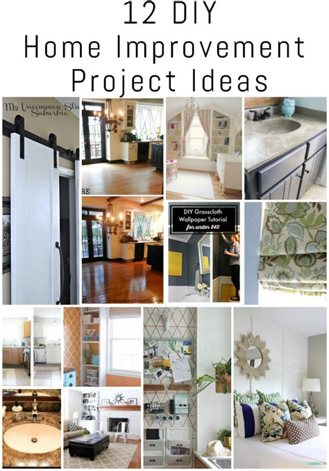 diy home improvement project ideas  diy housewives